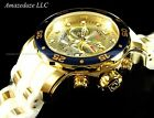 Invicta Men Pro Diver Scuba 18k Gold Plated Stainless Steel Champagne Dial Watch
