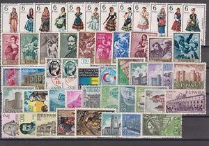 ESPANA-ANO-1969-NUEVO-SIN-FIJASELLOS-COMPLETO-CON-LOS-TRAJES