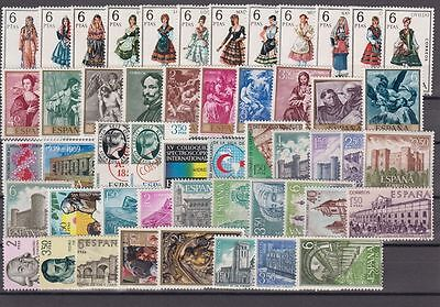 AnpassungsfäHig Espagne spanien Jahr 1969 Neu Ohne Briefmarkenfalz Komplett Mit KostÜme