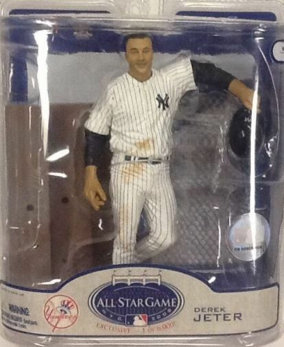 NY NY NY YANKEE STADIUM ALL STAR GAME - LIMITED EDITION EXCLUSIVE DEREK JETER FIGURE 131101