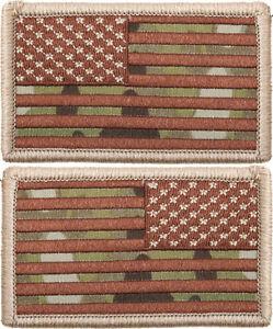 MultiCam US Flag Patch Hook-Loop American Military Army Camo OCP ... 530d9e907e9