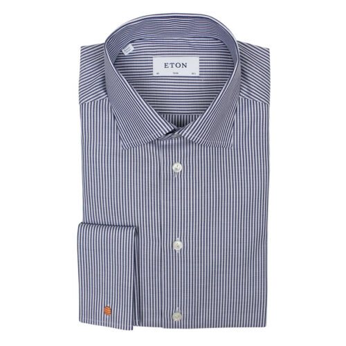 Fit 5 Slim Shirt 15 15 Double Shirt Eton 5 Eton Double Cuff Cuff Slim Fit qgw6d5T