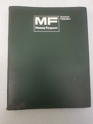 Massey 168 Workshop Manual Reprint 1856000m1 Massey Ferguson Tractor Manuals & Publications