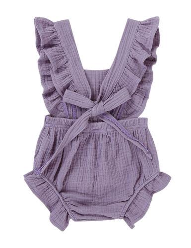 Toddler Baby Girls Kids Summer Romper Jumpsuit Bodysuit Sunsuit Outfit Clothes