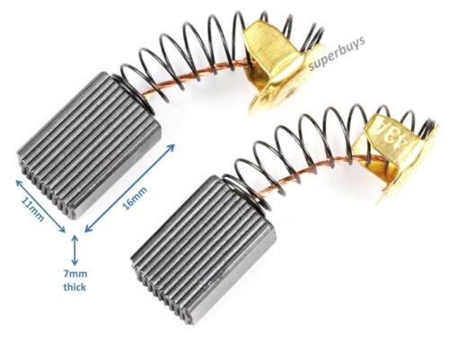 2x Carbon Motor Brush 7x 11x 17mm CB43 Replacement Generic Electric Drill Motor