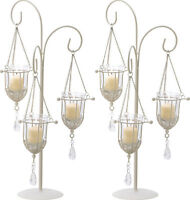 """2 Ivory Candelabra Candle Holder Table Decor Wedding Centerpieces 20"""" Tall New"""