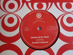 Rupert-039-s-People-Dream-On-My-Mind-Hold-On-7-034-Vinyl-Mod-Psych-Re-issue