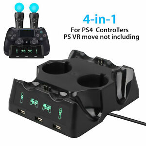 4-in-1-Controller-Charger-Dock-Quick-Charging-Station-Stand-For-PS4-MOVE-PS4-VR