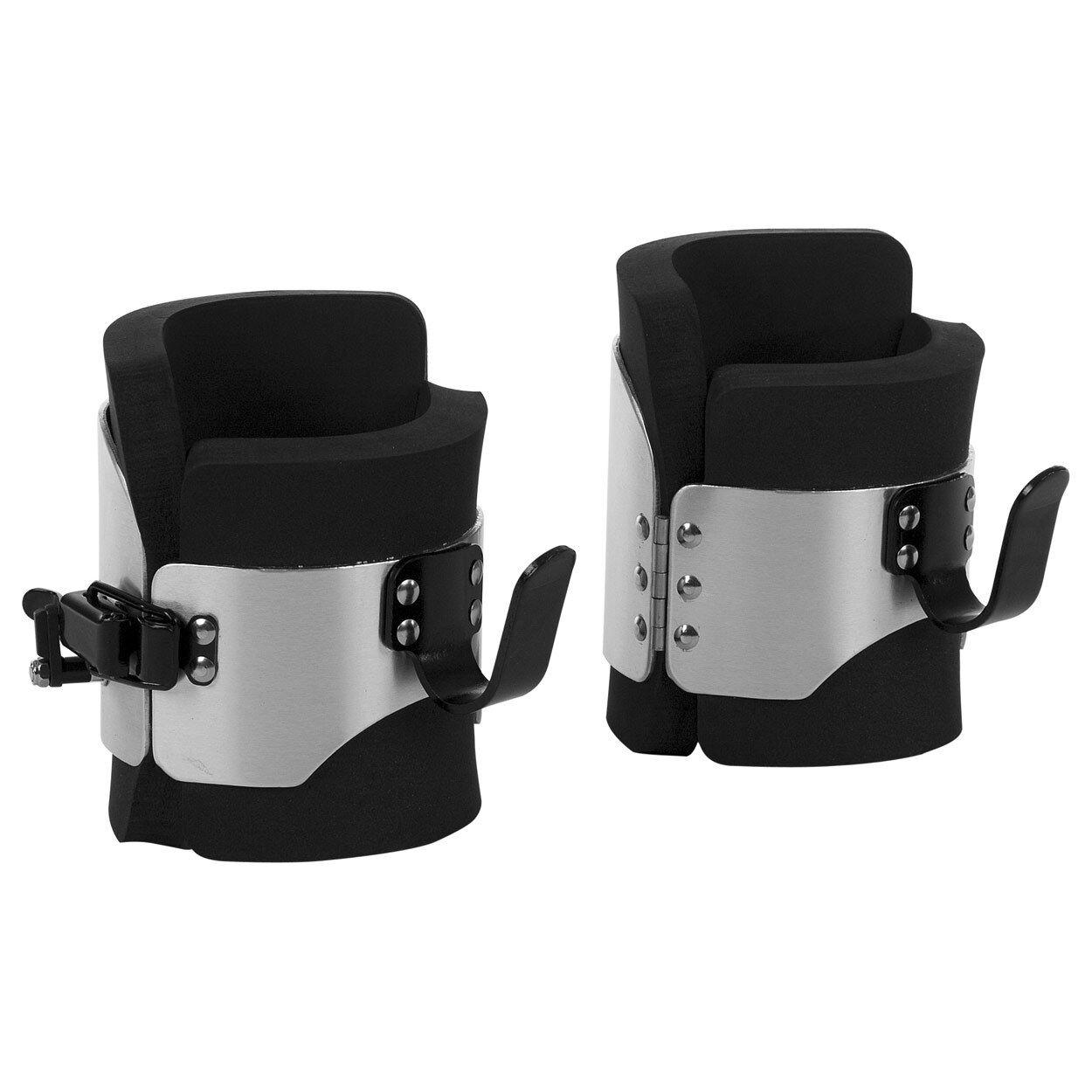Profi Gravity Boots mit Sicherheitsverschluss Inversion-Boots Hängeschuhe, Gr. L