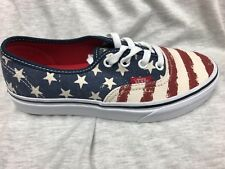 8ea25c1e5dd9e8 VANS off The Wall Men Classic Slip on American USA Flag Stars and ...
