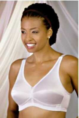 Trulife 422 Naturalwear Padded Shoulder Strap Mastectomy Bra    NEW  with tags