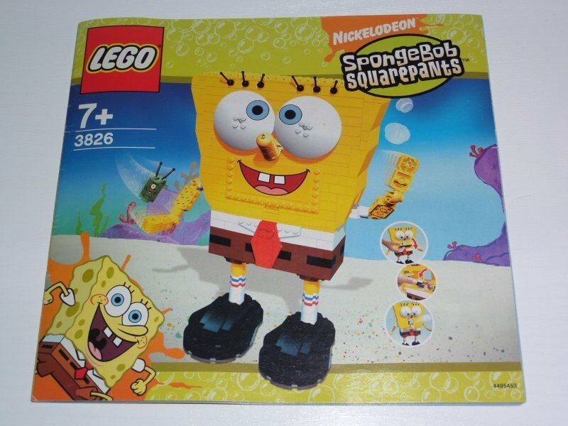 Lego SpongeBob Build - A - Bob 3826 3826 3826 inkl. OBA 57792c