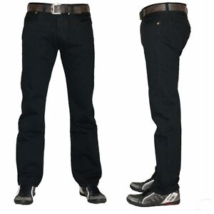 Levi-s-501-Jeans-BLACK-5010165-Denim-Herren-Hose