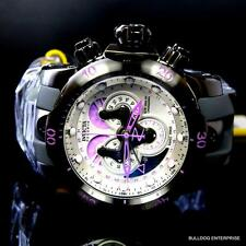 Men Invicta Reserve Venom Swiss Made Master Calendar Purple White Watch New