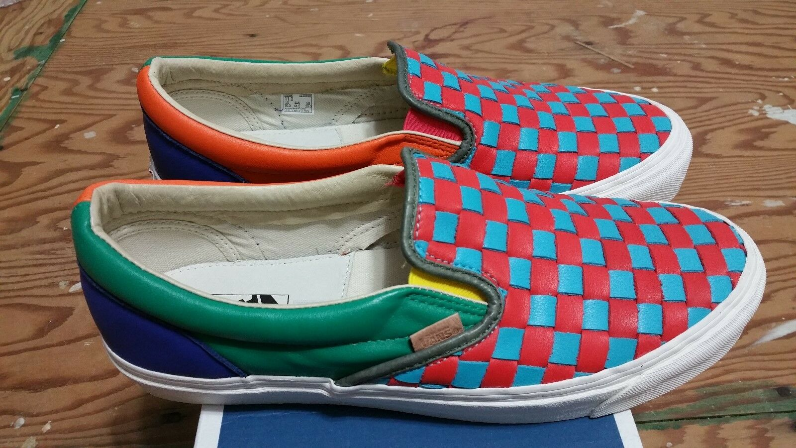 Vans Vault 50th Checkered Past OG LX Slip-On Size 11 syndicate supreme wtaps