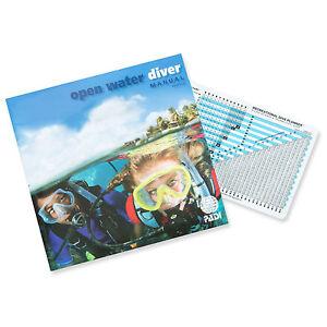 PADI-Open-Water-Diver-Manual-RDP-Table-Scuba-Diving-Book-Scuba-Dive-Class-70142