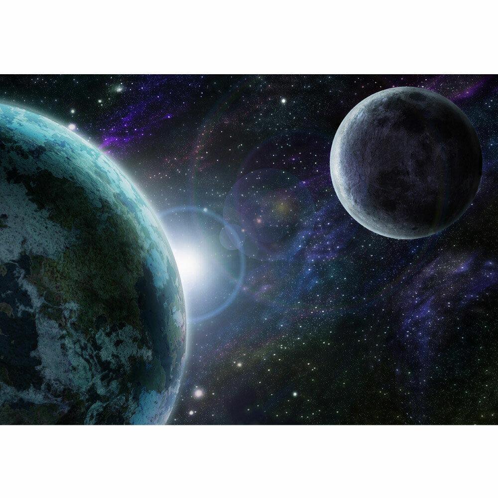 Papier Peint Photo Espace Espace de Terre Lune Liwwing Numéro 229