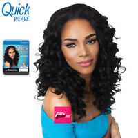 Hawaiian Outre Quick Weave Synthetic Half Wig Medium Wavy Style