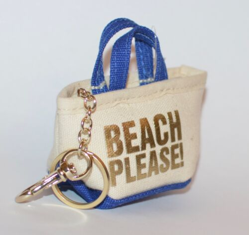 BATH BODY WORKS BEACH PLEASE MINI PURSE HANDBAG POCKETBAC HOLDER SANITIZER CASE