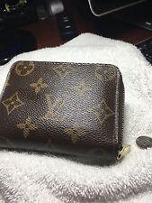 Louis Vuitton Authentic Damier Coin Purse Wallet Auth LV