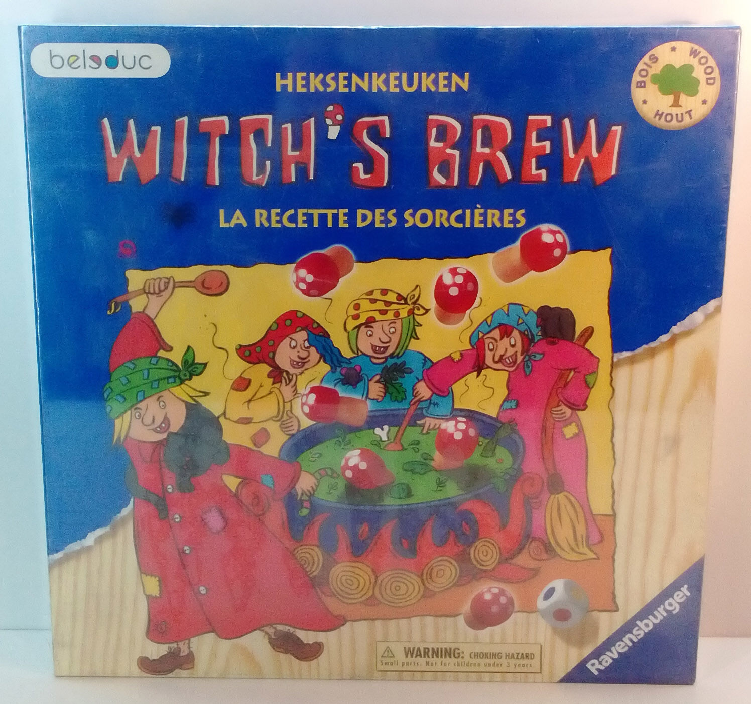 2004 RAVENSBURGER GREEK BOARD GAME WITCH'S BREW BRAND NEW & SEALED