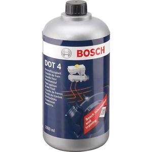 BOSCH Olio Liquido Fluido Freni DOT4 100% Sintetico Alte Prestazioni 1LT