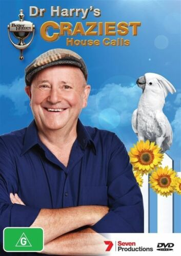 1 of 1 - Better Homes And Gardens - Dr Harry's Craziest House Calls (DVD, 2013) 'LIKE NEW