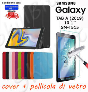 CUSTODIA-COVER-STAND-PELLE-PER-SAMSUNG-GALAXY-TABLET-TAB-A-2019-SM-T515-10-1-VET