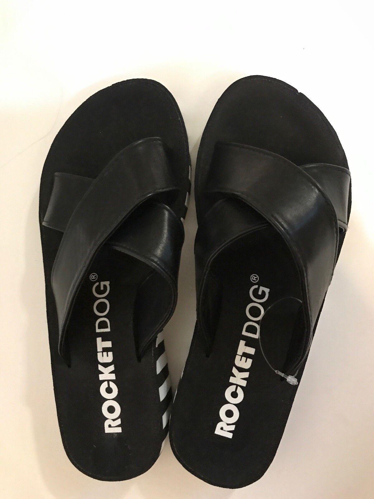 NEW Sandals ROCKET DOG Slip On Sandals NEW Shoes Black sz 7 4ca72d