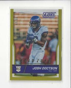 2016-Score-Jumbo-Gold-Zone-364-Josh-Doctson-RC-Rookie-TCU-Redskins-99