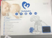 Bellababy Rechargeable Double Electric Breast Pump Pain Free Strong Suction-USED
