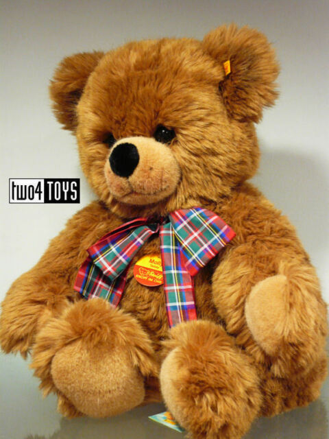 STEIFF HUGE PLUSH TEDDY BEAR MOLLY 2002 MADE IN GERMANY  65cm / 20in. EAN 021770