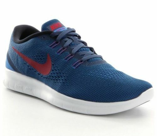 MEN'S NIKE FREE RN RUNNING SHOES SNEAKERS 831508 406 SQUADRON BLUE SIZE 10.5 NEW