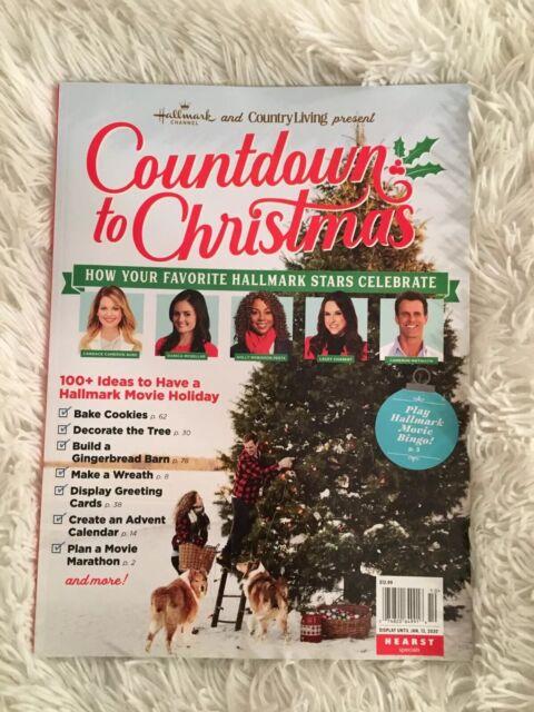 Hallmark Country Living Countdown to Christmas Magazine December 2019 NEW | eBay
