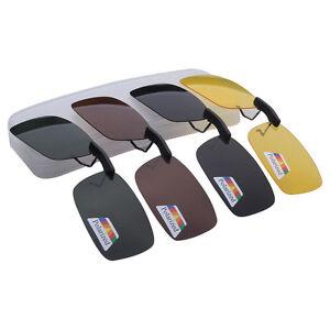9ceccc26ca Image is loading Unisex-Clip-on-Night-Vision-Goggles-Polarized-Sunglasses-