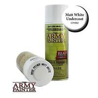 Army Painter Base Primer Matte White Primer Tap Cp3002