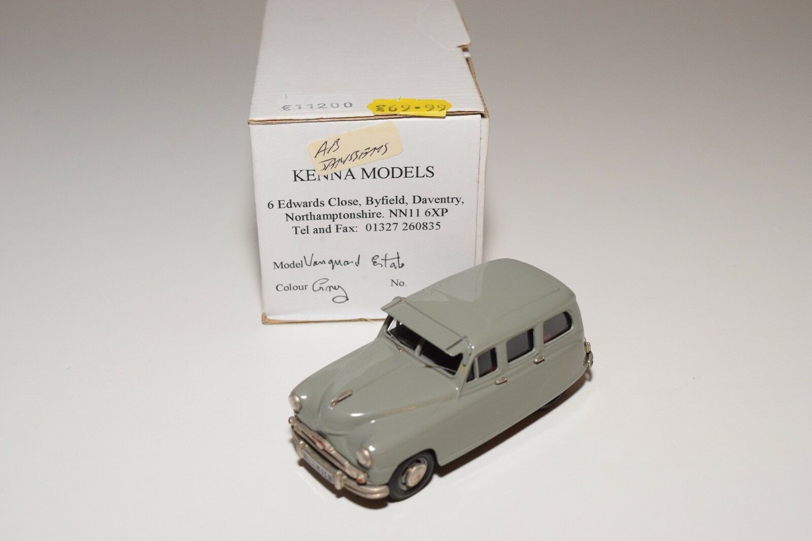 KENNA MODELS STANDARD VANGUARD ESTATE GREY MINT BOXED