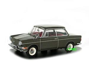 Bmw-700-ls-1962-1965-gris-metalizado-Minichamps-1-43