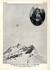 P. W. Bierbaum Ueber die Jungfrau im Aeroplan Schweizer Flieger Oscar Bider 1913