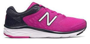 New-Balance-Women-039-s-Shoes-Pink-with-Grey-for-Running-and-Getting-Fit