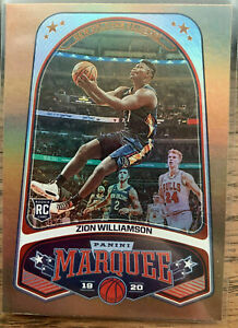 2019-20-Panini-Chronicles-Marquee-Bronze-Zion-Williamson-Rookie-244-Pelicans