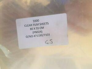 1000 Feuilles 80 Cm X 55 Cm Effacer Film Feuilles-afficher Le Titre D'origine