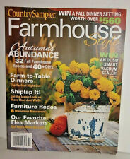 Farmhouse Style Magazine By Country Sampler Autumn 2019 Over 50 Tips And Ideas For Sale Online Ebay