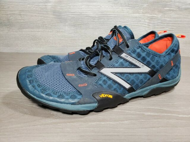 New Balance Minimus Trail 10 MT10GO Running Shoes, Men's Size 11 D, Teal