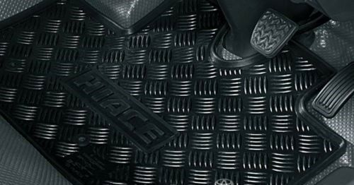 Genuine Hiace All Weather Rubber Floor Mats (2010+)