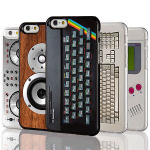 Retro-Gadgets-Handy-Case-Sammlung-fuer-das-iPhone-Range-Computerfreak-Elektronik-Abdeckung