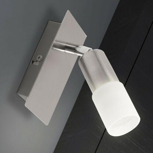 3 W LED Wand Spot Leuchte Strahler Lampe 1-flammig Beleuchtung Glas Wohnzimmer