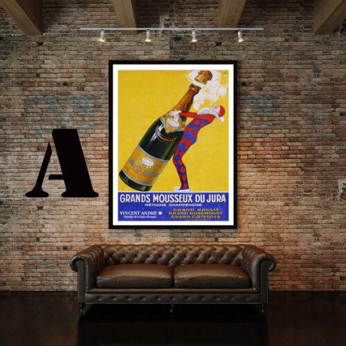Choice of 3 Prints! Vintage Champagne Advertising Art Print Poster Set