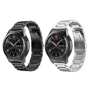 Repuesto-Reloj-Metal-Pulsera-para-Samsung-Gear-S3-Frontier-Banda-Acero-22MM