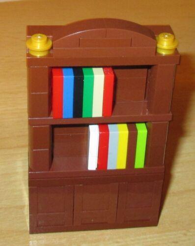 in neu braun Lego City 1 Schrank Bücherregal Büro Möbel Friends